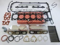 Zylinderkopfdichtung Satz + Kopfschrauben BMW E46 320i E39 520i M52 Elring