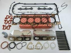 Zylinderkopfdichtung Satz + Schrauben BMW E46 323i 328i E39 523i 528i M52 Elring