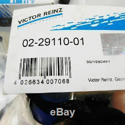 Zylinderkopfsatz mit Organischer Dichtung Gussdeckel VW VR6 2,8 2,9 ABV AAA